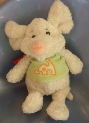 Детска плюшена играчка мишка 3г+