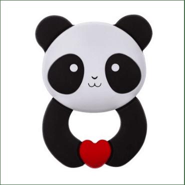 akuku-силиконова гризалка Панда