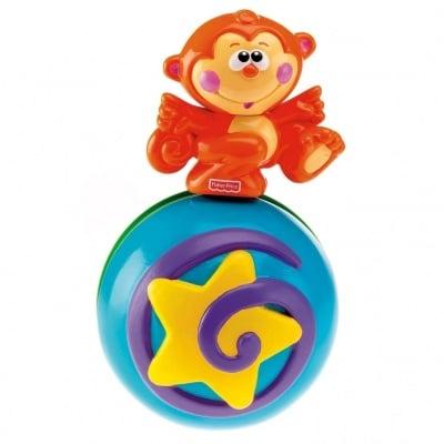Бебешка музикална играчка маймунка Fisher Price