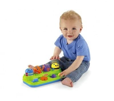 Детска играчка занимателни подскачащи буболечки 6-36м Fisher Price