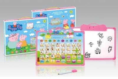Arm toys-образователна дъска Peppa Pig