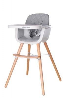 Kikka boo-дървен столче за хранене Woody