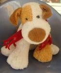 Детска плюшена играчка куче 3г+