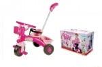 Детска триколка с педали и дръжка Pinky