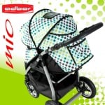 Adbor-Бебешка комбинирана количка Mio цвят:L05