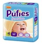 Pufies Sensitive Maxi4 7-14кг 18бр