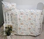 Galix-детски спален комплект  Ежко Бежко