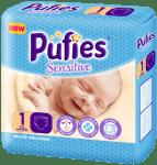 Pufies Sensitive Newborn1 2-5кг 26бр