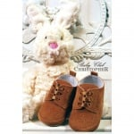 Бебешки обувки велур