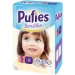 Pufies Sensitive Junior5 11-20кг 14бр
