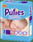 Pufies Sensitive Mini2 3-6кг 24бр