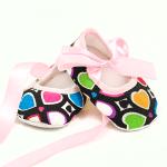 Carra-бебешки обувки:сърчица