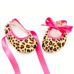 Carra-бебешки обувки:леопард