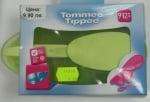 Купа и лъжичка за хранене на бебе Tommee Tippee 9-12м