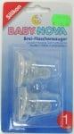 Биберон силикон орто за каша 0-3м Baby Nova