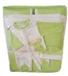 Луксозен бебешки комплект за изписване 4 части  Съникидс