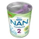 Nestle-адаптирано мляко NAN2 Comfortis 6-12м 800гр