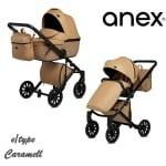 Anex-бебешка количка 2в1 E/Type Caramel:CR13