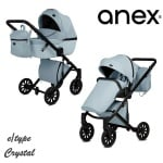 Anex-бебешка количка 2в1 E/Type Crystal:CR16