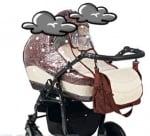 Дъждобран за бебешка количка универсален