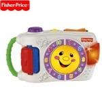 Детски интерактивен обучаващ фотоапарат на български език Fisher Price 6м+