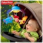 Бебешка музикална въртележка 2 в 1 Жираф  Fisher Price 0м+