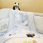 Бебешко одеяло за спомени 100х80см