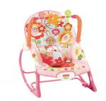 Бебешки шезлонг със зайчета Fisher price