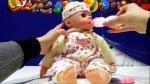 Кукла бебе с растящи зъбчета